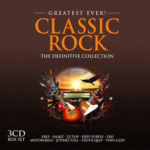 Greatest Ever! Classic Rock (3 CD Box Set) (2015)
