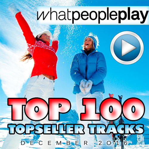 Topseller Tracks Top 100 December 2016 (2017)